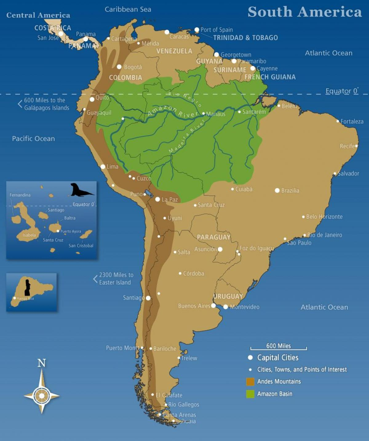 Chile andes mountains map - Map of Chile andes mountains ...