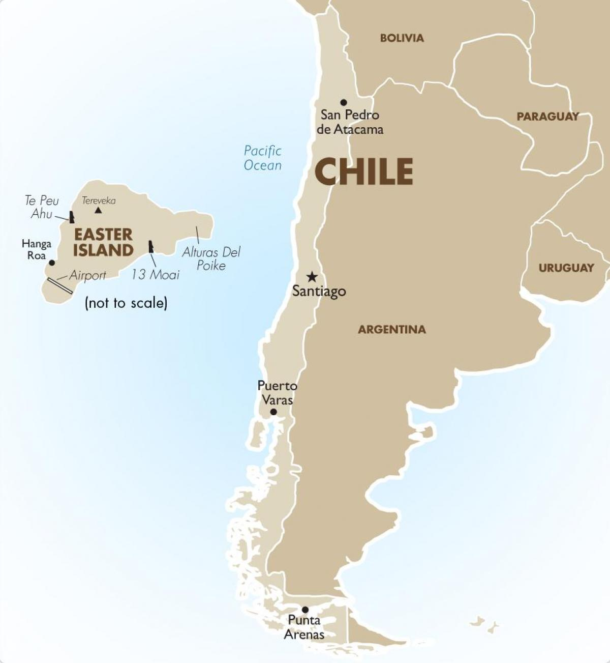 Chile's map