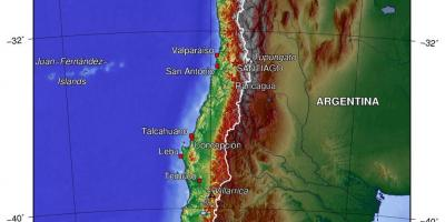 Physical map of Chile - Chile geography map (South America ... on chile volcano erupts, chile's map, south america map, chile rivers map, chile elevation map, chile precipitation map, chile culture, chile population density map, chile history, chile flag, chile rodeo, chile world map, chile climate zone map, chile geography, chile landscape, chile gold map, chile economic map, chile beaches, chile food,